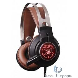 A4 Bloody G430 черный/коричневый 1,8м мониторы оголовье