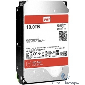 "10TB WD Red (WD100EFAX) {Serial ATA III, 5400- rpm, 256Mb, 3.5""}"