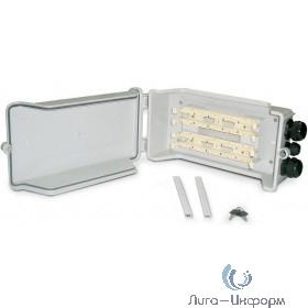 Hyperline 110C-INBOX-100 (outdoor) Коробка распределительная для 100-парного 110 кросса, 350х190х95 мм, IP 54, -20 С - +80 С