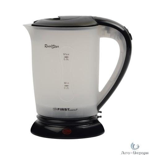 FIRS FA-5425-2-BA Чайник дорожный, пластиковый, дисковый, 0.5 л, 2 чашки