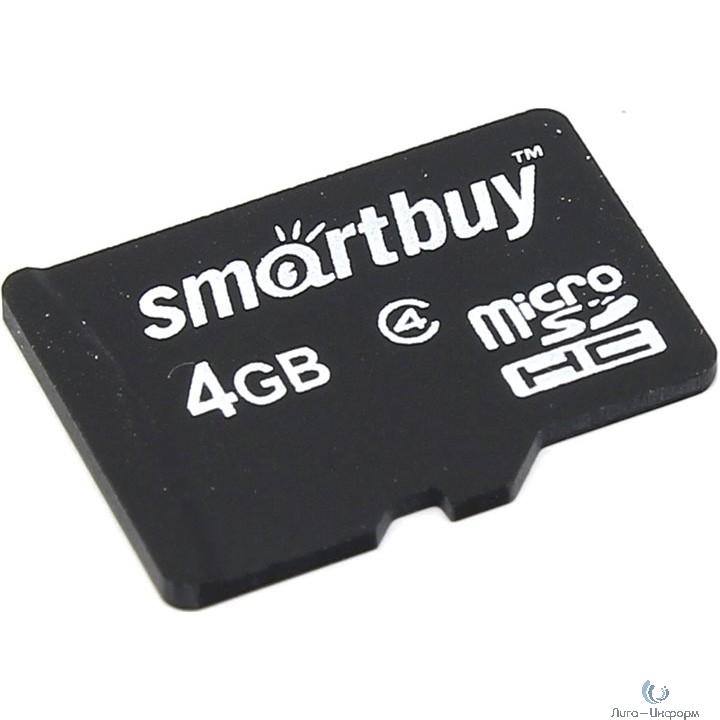 Micro SecureDigital 4Gb Smart buy SB4GBSDCL4-00 {Micro SDHC Class 4}