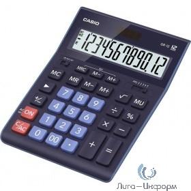 Калькулятор настольный CASIO GR-12BU темно-синий  {Калькулятор 12-разрядный}