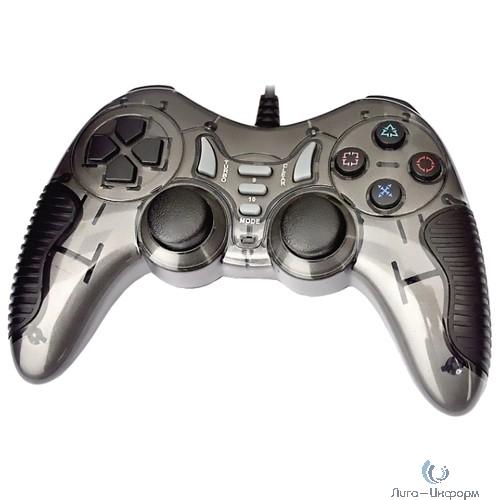 3Cott Single GP-06 черный USB [3Cott-GP-06B] {Геймпад, 14 кнопок, вибрация}