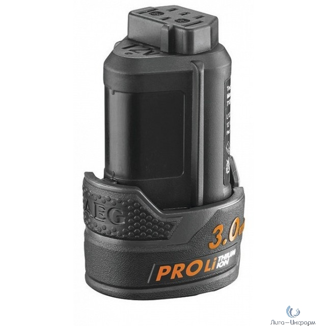 Aeg Аккумулятор L1230,12В,3 Ач,Pro Li-ion [4932459180]