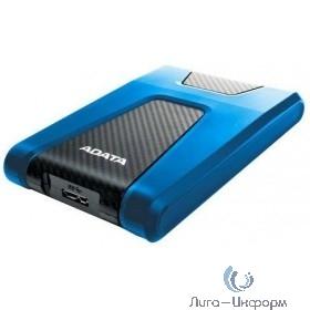 "A-Data Portable HDD 2Tb HD650 AHD650-2TU31-CBL {USB3.1, 2.5"", Blue}"