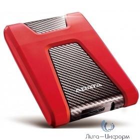 """A-Data DashDrive Durable 2.5"""" AHD650-2TU31-CRD HD650 2Tb USB 3.1 красный"""