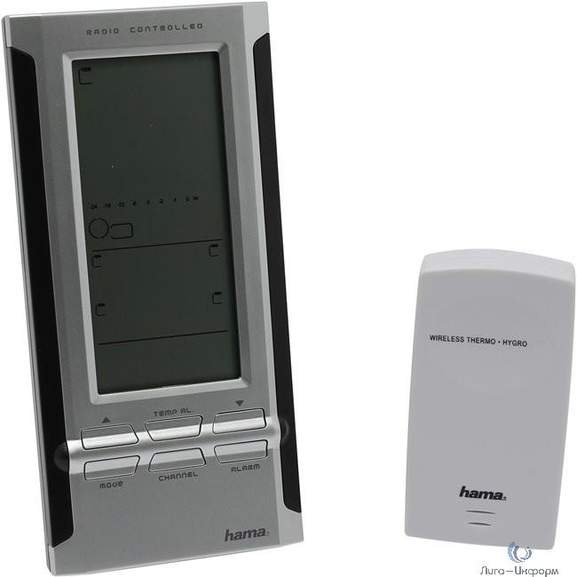 Погодная станция Hama EWS-380 серебристый/черный [822153] (104932)
