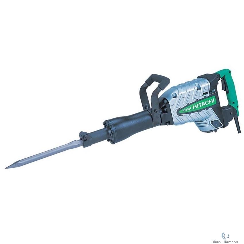 Hitachi H65SB2 Отбойный молоток [H65SB2] { HEX 30мм, 1240 Вт, кейс }