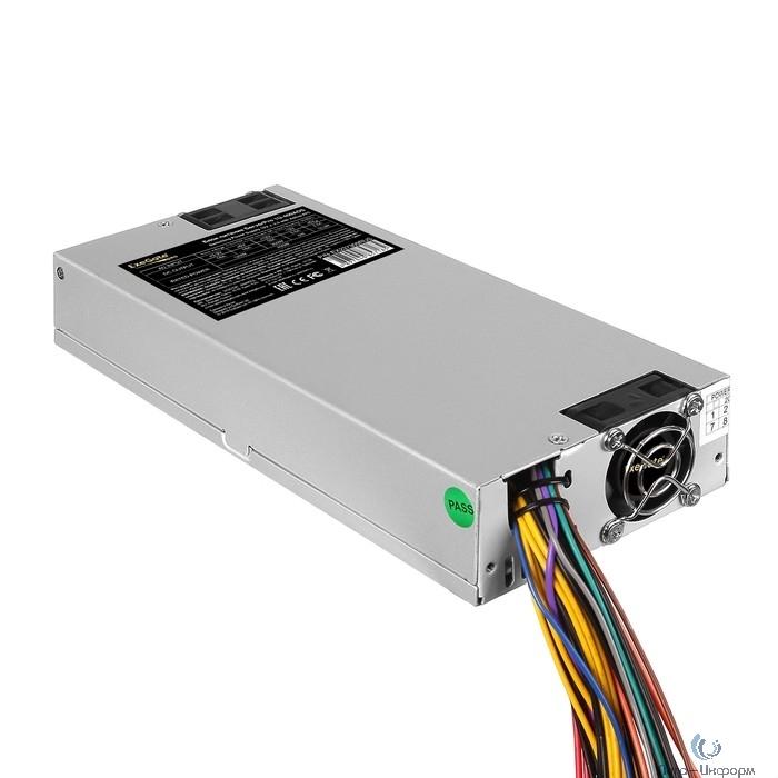Exegate EX237309RUS Серверный БП 400W <ServerPRO-1U-400ADS> APFC, унив. для 1U, 24pin,2x(4+4)pin,4xSATA,3xIDE