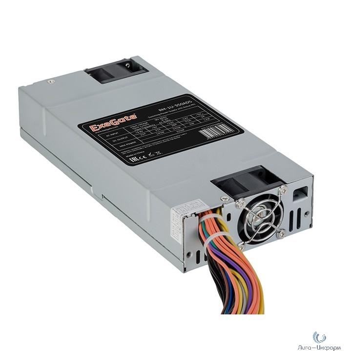Exegate EX237310RUS Серверный БП 450W <ServerPRO-1U-450ADS> APFC, унив. для 1U, 24pin,2x(4+4)pin,4xSATA,3xIDE