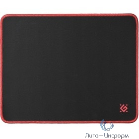 Defender Игровой коврик Black M, 360x270x3 мм, ткань+резина [50560]