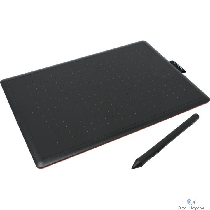 Графический планшет Wacom One by Medium USB черный/красный [CTL-672-N]