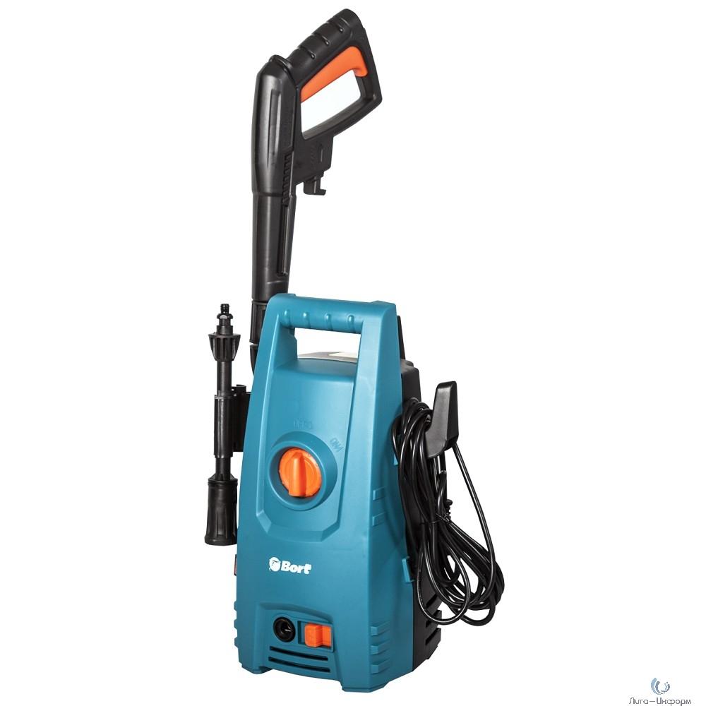 Bort BHR-1600 Мойка высокого давления [98294101] { 1600 Вт, максимальное давление 120 бар, рабочее давление 90 бар, 7 л/мин, 5.3 кг }