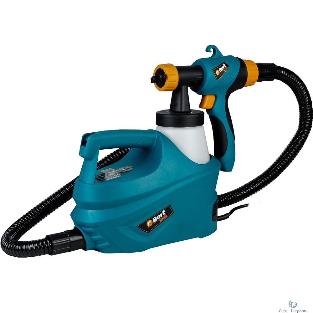 Bort BFP-350 Распылитель электрический [93727819] { 350 Вт, 0,2 л/мин, емкость 700 мл, 2.4 кг, набор аксессуаров 5 шт }