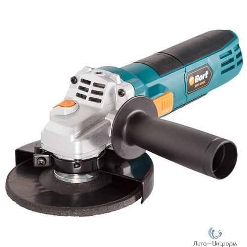Bort BWS-800X Машина шлифовальная угловая [91272553] { 750 Вт, 12000 об/мин, 125 мм, М14, 1,8 кг, набор аксессуаров 4 шт }