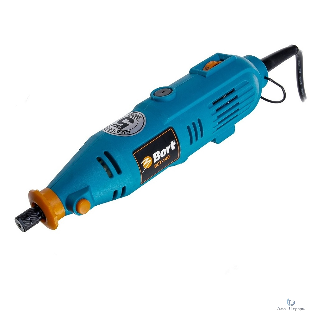 Bort BCT-140 Гравер электрический [98295658] { 135 Вт, 32000 об/мин, 0.6 кг, набор аксессуаров 42 шт }