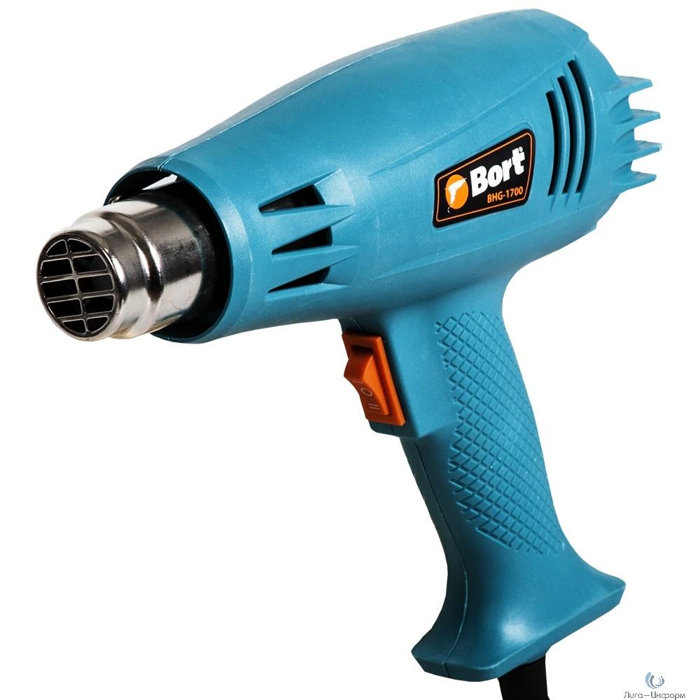 Bort BHG-1700 Фен технический [91275691] { 1600 Вт, 2 режима, 240 л/мин, 0.65 кг }