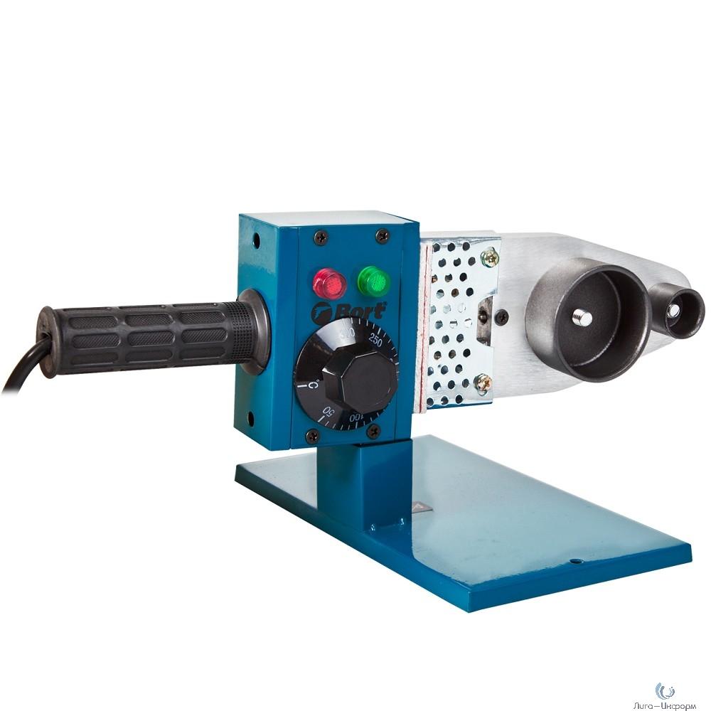 Bort BRS-1000 Аппарат для сварки труб [91271174] { 1000 Вт, 220 - 240 В, 1, 5 кг, набор аксессуаров 6 шт }
