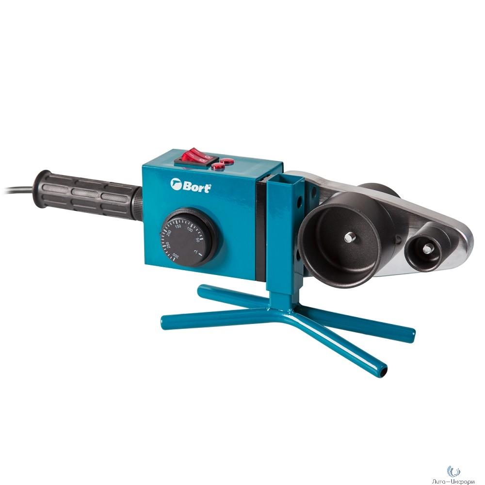 Bort BRS-2000 Аппарат для сварки труб [91271181] { 1500 Вт, 220 - 240 В, 1, 5 кг, набор аксессуаров 13 шт }