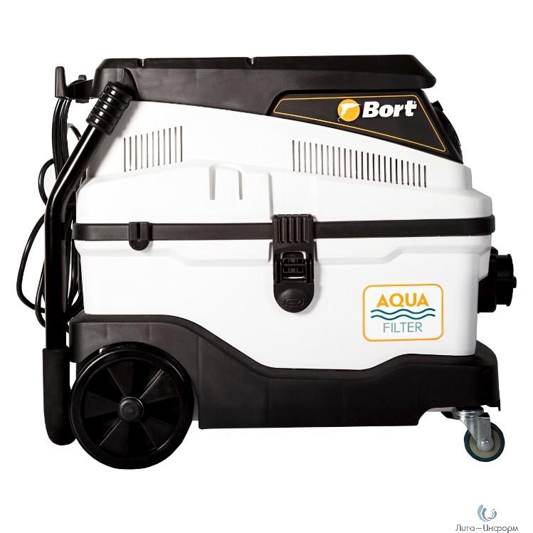 Bort BSS-1630-Premium Пылесос строительный [91272287] { 1600 Вт, вместимость 30 л, 38 л/сек, 5,6 кг, набор аксессуаров 7 шт }