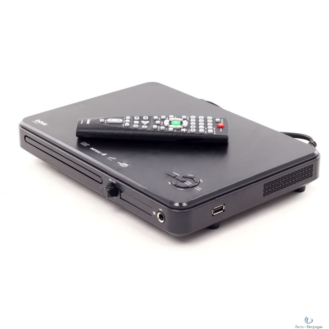 BBK DVP033S Mpeg-4 DVD-плеер серии in Ergo темно-серый