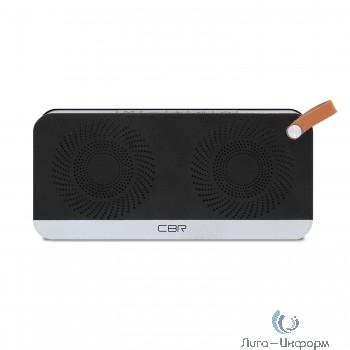 CBR CMS 147Bt черный/серебро {Bluetooth колонка 3.0, 80-18000 Гц, 5 Вт*2}