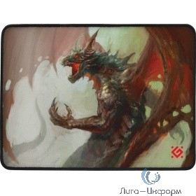 Defender Игровой коврик  Dragon Rage M 360x270x3 мм, ткань + резина [50558]