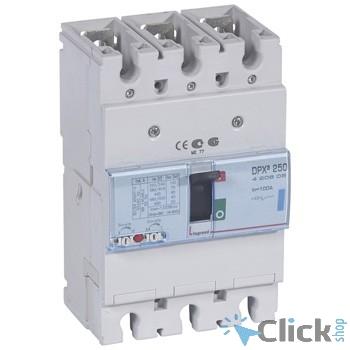 Legrand 420605 Автоматический выключатель DPX? 250 - термомагнитный расцепитель - 70 кА - 400 В~ - 3П - 100 А
