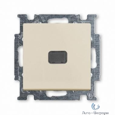 ABB 1012-0-2156 Выключатель с клавишей, 1-клавишный, с подсветкой, Basic 55, слоновая кость