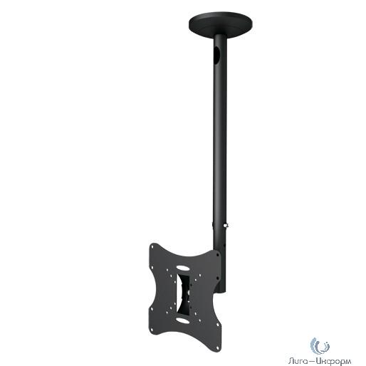 """Arm Media LCD-1000 черный 10""""-37"""" макс.30кг потолочный поворот и наклон"""