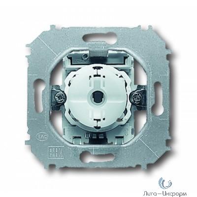 ABB 1012-0-2109 Механизм 1-клавишного, 1-полюсного переключателя 10А 250В, серия impuls