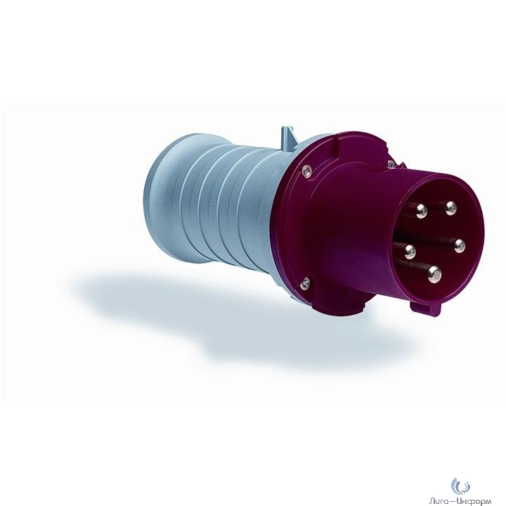 ABB 2CMA166764R1000 Вилка кабельная 463P6, 63А, 3P+N+E, IP44, 6ч
