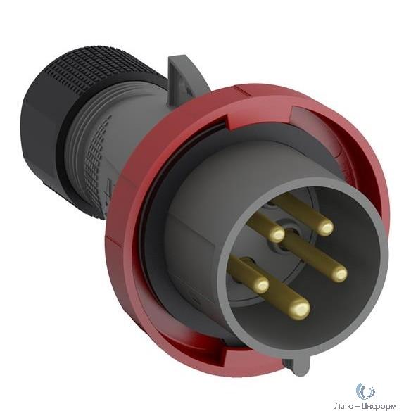 ABB 2CMA101112R1000 Вилка кабельная Easy&Safe 432EP6W, 32А, 3P+N+E, IP67, 6ч