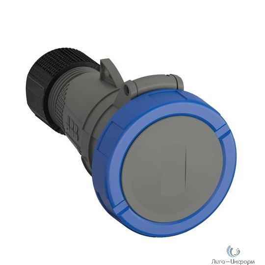 ABB 2CMA101142R1000 Розетка кабельная Easy&Safe 232EC6W, 32А, 2P+E, IP67, 6ч
