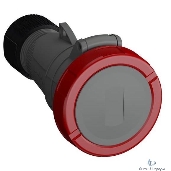 ABB 2CMA101150R1000 Розетка кабельная Easy&Safe 332EC6W, 32А, 3P+E, IP67, 6ч