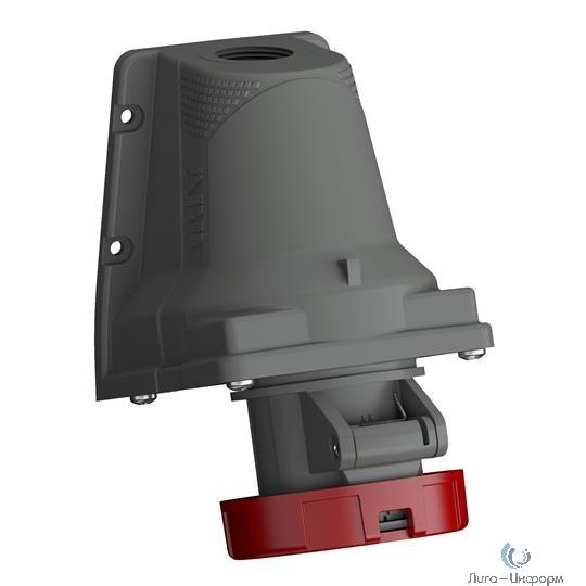 ABB 2CMA101221R1000 Розетка для монтажа на поверхность Easy&Safe 316ERS6W, 16A, 3P+E, IP67, 6ч