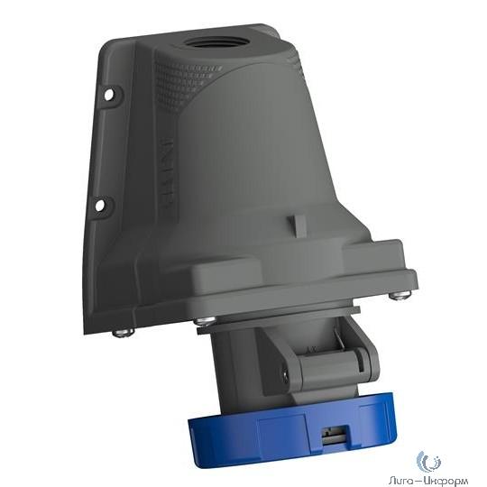 ABB 2CMA101236R1000 Розетка для монтажа на поверхность Easy&Safe 232ERS6W, 32A, 2P+E, IP67, 6ч