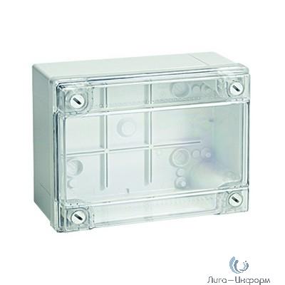 Dkc 54020I Коробка ответвит. с гладкими стенками, прозрачная, IP56, 150 х 110 х 70мм