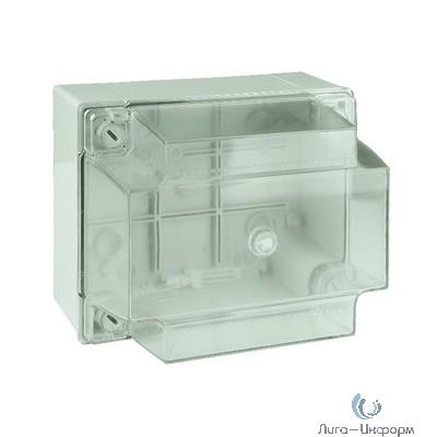 Dkc 54040 Коробка ответвит. с гладкими стенками, прозрачная, IP56, 150 х 110 х 135мм