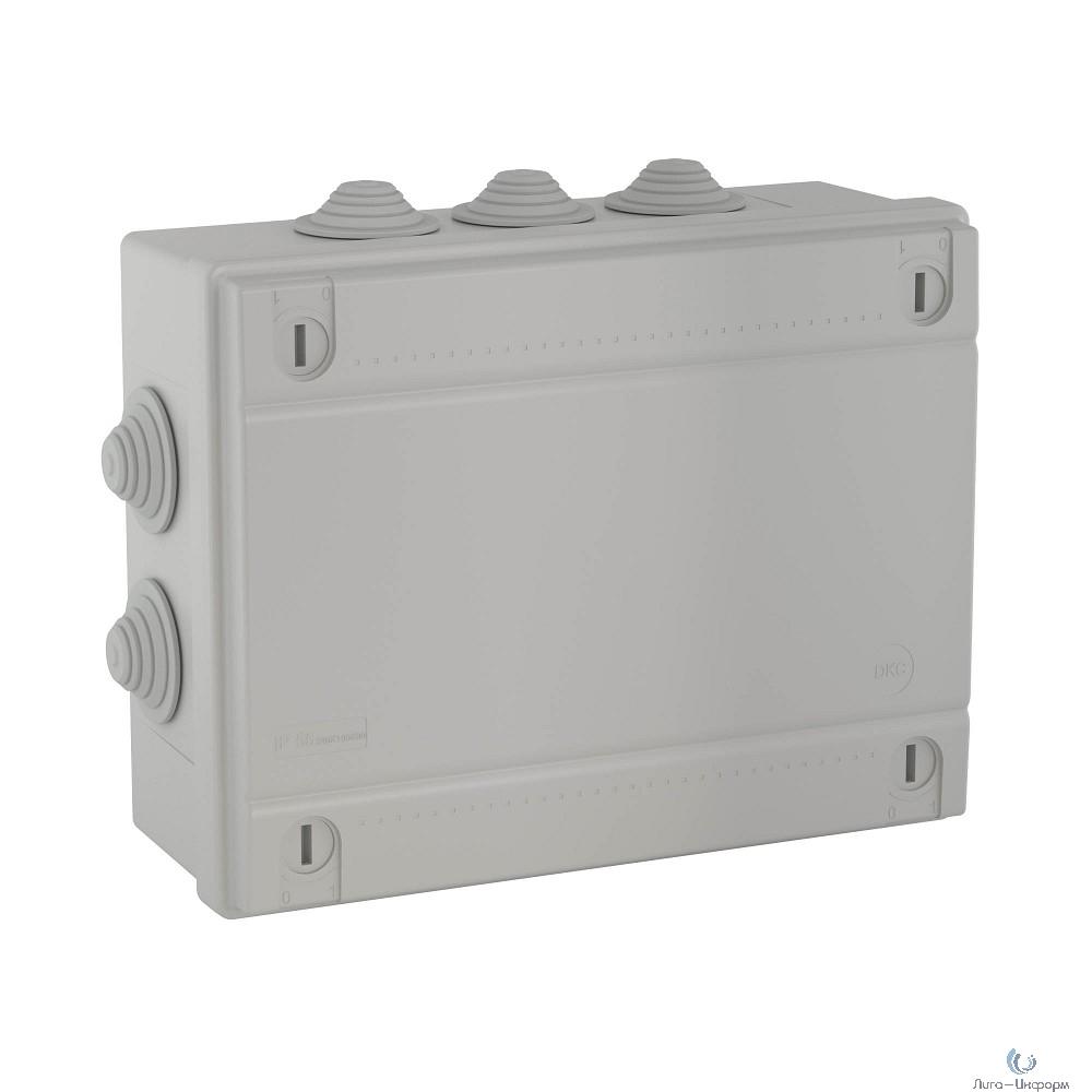 Dkc 54201 Коробка ответвит., с каб. вводами 2 х 40+6 х 32мм, IP55, 240 х 190 х 90мм