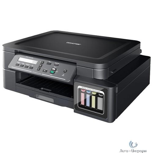 Brother DCP-T510W МФУ, A4, цветной струйный, 12 изобр/мин, 128Мб, 6000x1200 dpi, WiFi, USB (МФУ), в комплекте - 2xBK, 1xCMY (DCPT510WR1)