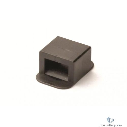 Dkc 21041302 Держатель для двух хомутов, черный