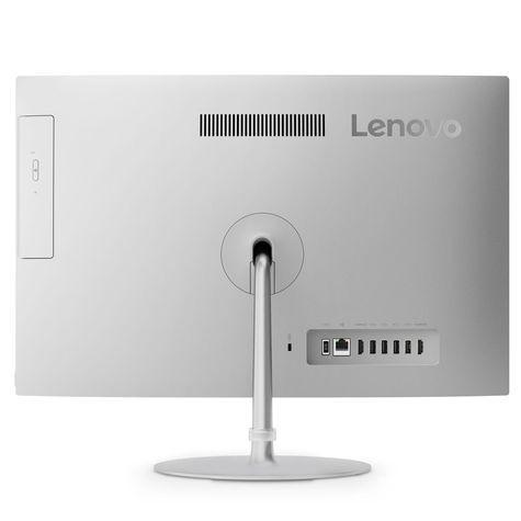 """Lenovo IdeaCentre 520-24IKU [F0D2008NRK] silver 23.8"""" FHD i5-8250U/<wbr>8Gb/<wbr>1Tb/<wbr>DVDRW/<wbr>DOS/<wbr>k+m"""