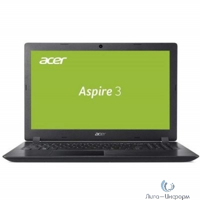"Acer Aspire A315-21-22UD [NX.GNVER.042] black 15.6"" {HD E2 9000/4Gb/128Gb SSD/Linux}"