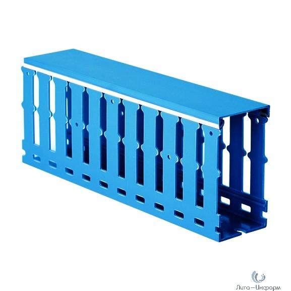 Dkc 00227RL Короб перфорированный, синий RL12 25x30 ( 2 метра)