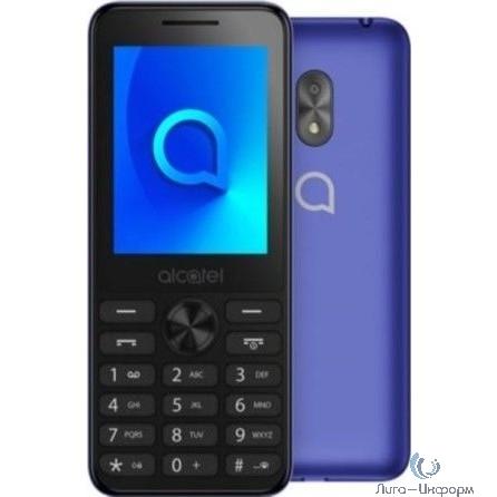 """Alcatel 2003D Metallic Blue 2Sim 2.4"""" TFT 240x320 1.3Mpix BT"""