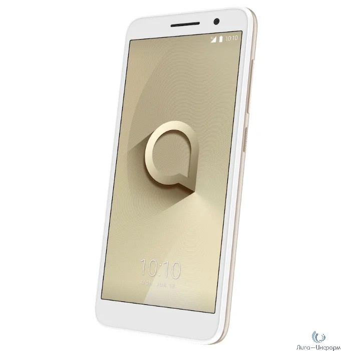 "Alcatel 1 (5033D) Metallic Gold 3G 4G 2Sim 5"" 480x960 And8.0 5Mpix 802.11bgn BT GPS"