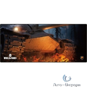 Cougar ARENA Black (WORLD of TANKS) Игровой коврик для мыши