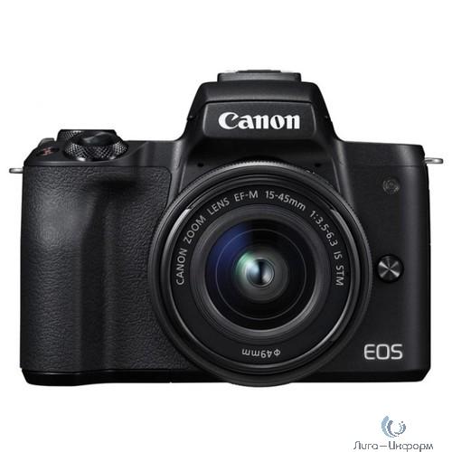 "Canon EOS M50 черный {24.1Mpix 3"" 4K WiFi 18-150 IS STM LP-E12}"