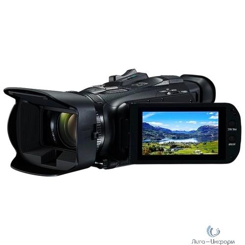 "Видеокамера Canon Legria HF G26 черный 20x IS opt 3"" Touch LCD 1080p XQD+SDHC Flash/WiFi"